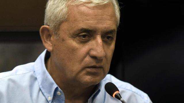 Voormalig president Guatemala nogmaals verdacht van corruptie