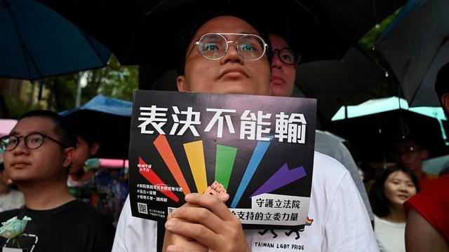 Taiwan stemt als eerste land in Azië voor legalisering homohuwelijk