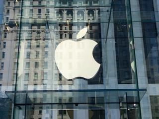 Google kocht heel even Apple op de site van Dow Jones