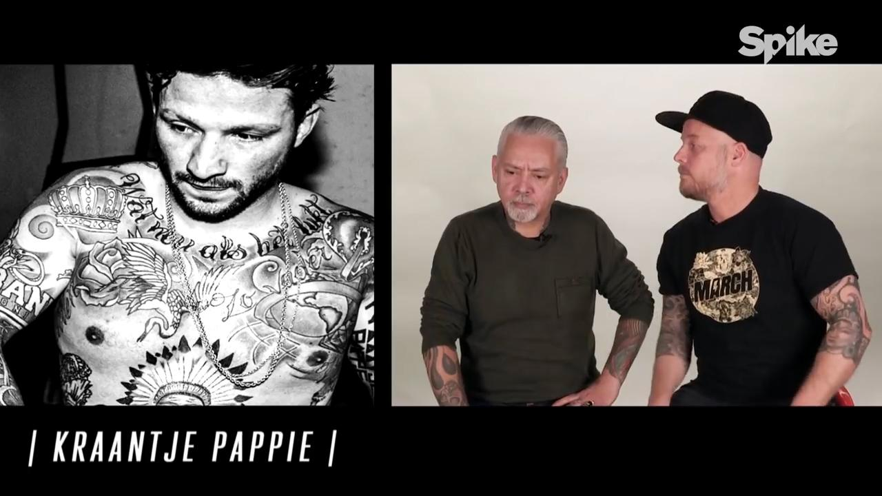 Tatoeëerders beoordelen tattoos Kraantje Pappie en Lil' Kleine