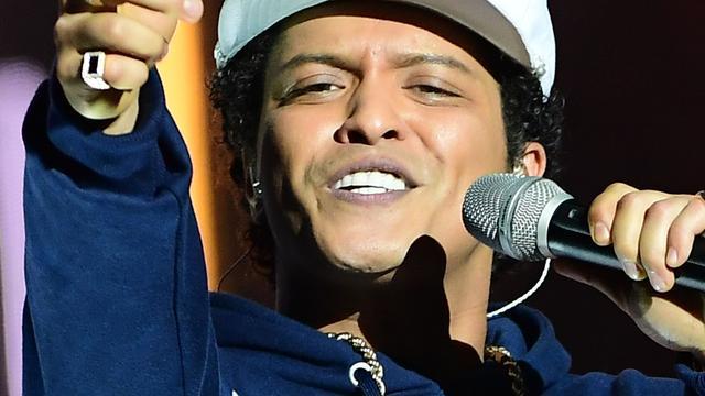 Bruno Mars speelt in Ziggo Dome
