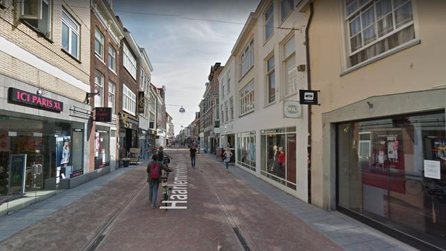 Gewonde na steekpartij Haarlemmerstraat Leiden