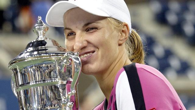 Kuznetsova won de US Open in 2004