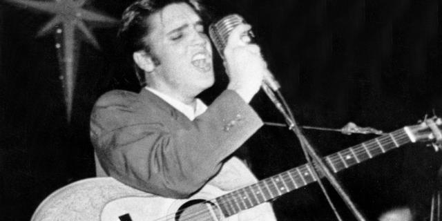 Gitaar waarmee Elvis Presley comeback op podium maakte wordt geveild