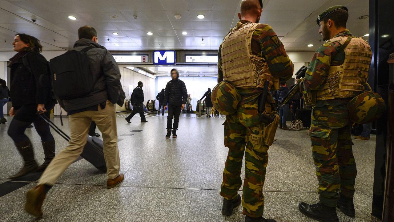 Brussel in hoogste staat van paraatheid