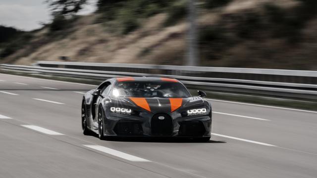 Bugatti zet nieuw snelheidsrecord voor productieauto's neer