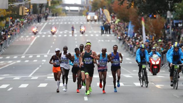 Michel Butter knap zesde in marathon van New York