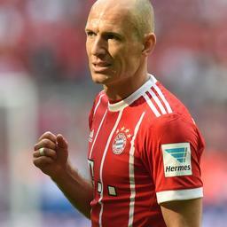 Bayern München heeft Robben terug voor thuisduel met VfL Wolfsburg