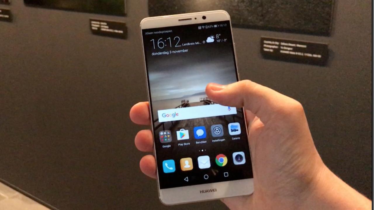 Huawei presenteert nieuwe smartphone in Duitsland
