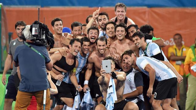 Argentijnse hockeyers kloppen België in olympische finale