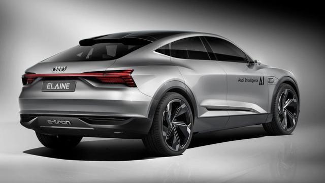 Audi laat in de toekomst kijken met Elaine Concept