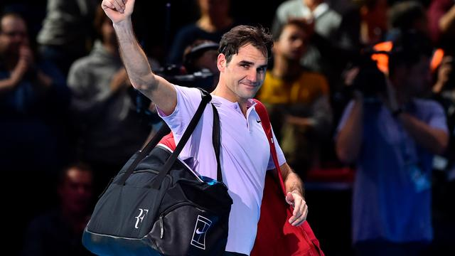 Federer laat zich verrassen door Goffin in halve finales World Tour Finals