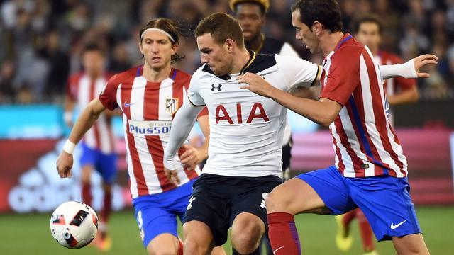Janssen onderuit met Tottenham Hotspur tegen Atletico Madrid