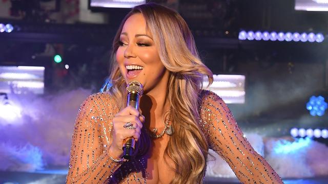 Plaat Mariah Carey na 17 jaar op nummer één.