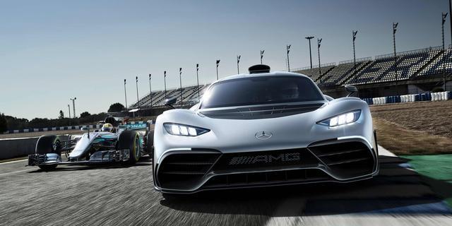 De meest spectaculaire Formule 1-auto's voor op straat