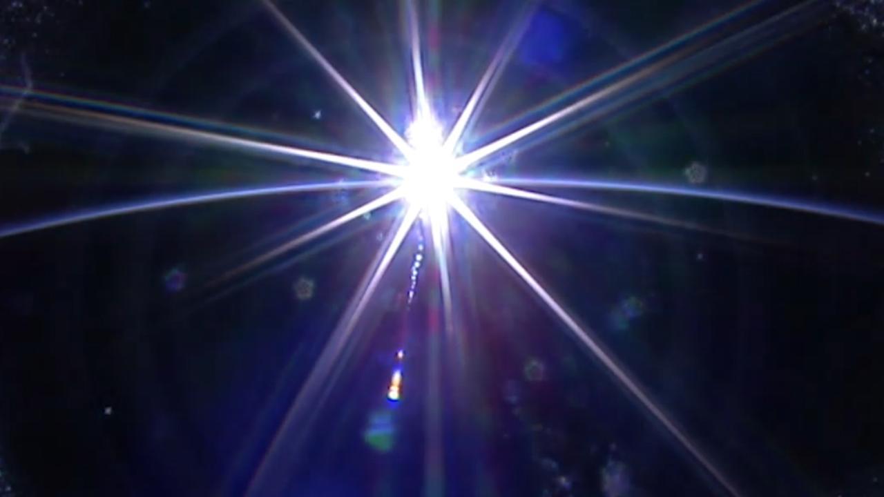 Astronauten ISS maken timelapse van zonsondergang