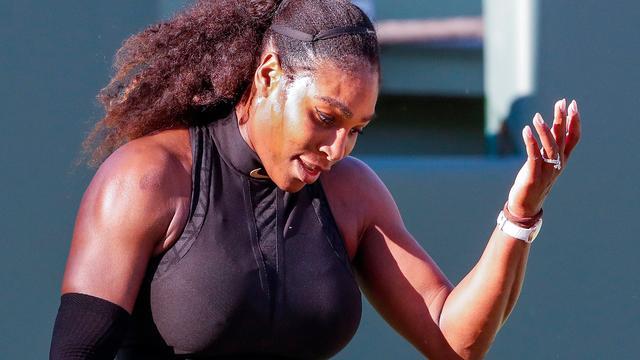 Serena Williams slaat ook Rome over en is onzeker voor Roland Garros