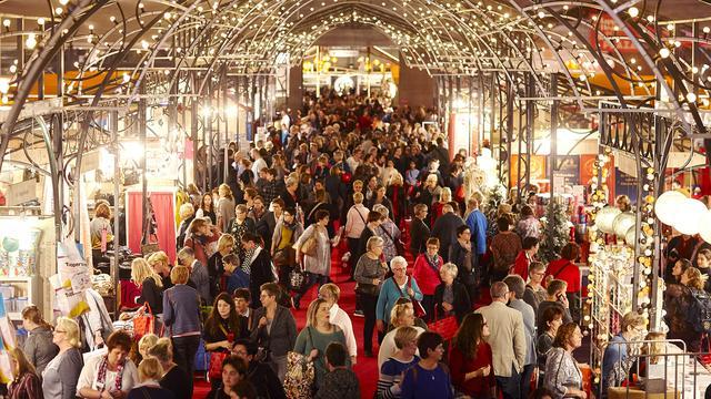 Trijntje Oosterhuis, Isa Hoes en Heleen van Royen op Margriet Winter Fair