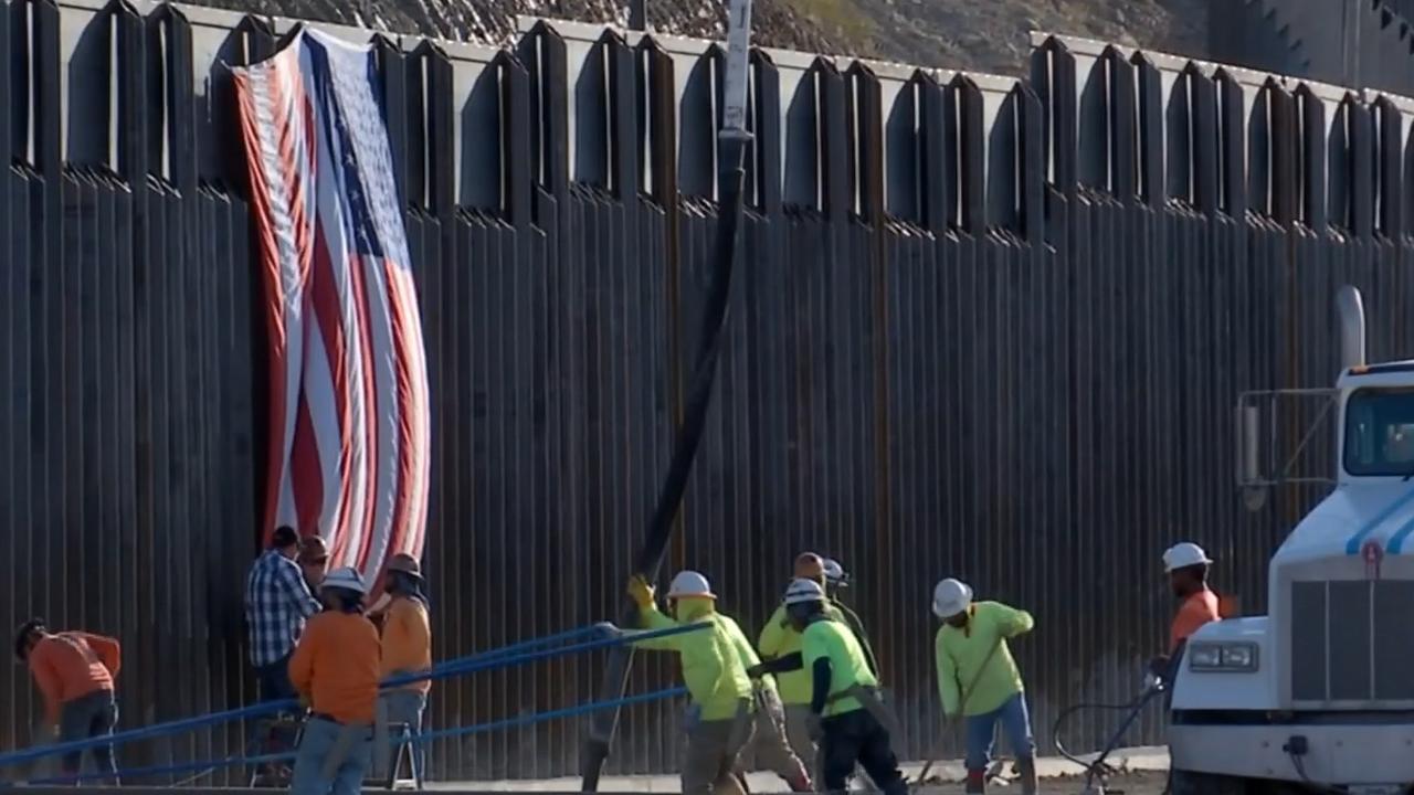 Stichting bouwt in korte tijd eigenhandig Amerikaanse grensmuur