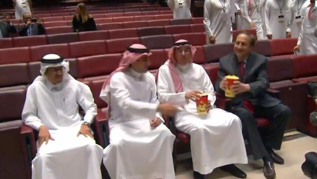 Inwoners Saudi-Arabië mogen na 35 jaar weer naar de bioscoop
