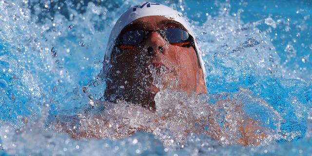 Phelps imponeert ook op 200 meter wisselslag