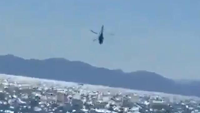 Marinehelikopter stort in zee bij Mexico