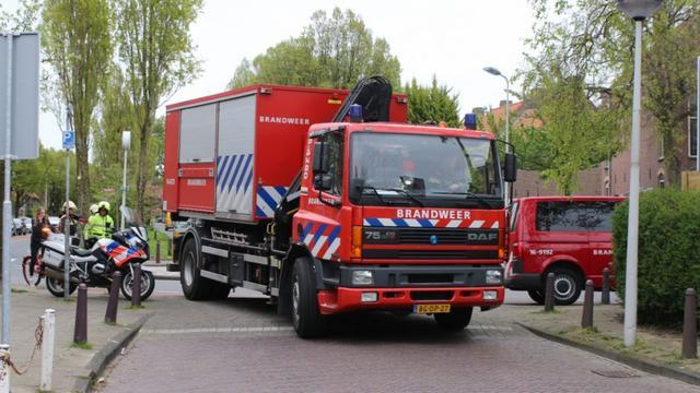 Gaswolk zorgt voor tijdelijke afsluiting Leuvenstraat Leiden