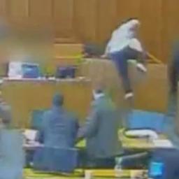 Justitie VS geeft beelden vrij van dodelijke schietpartij in rechtbank Utah