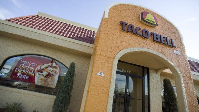 Taco Bell spekt resultaten fastfoodbedrijf Yum! Brands