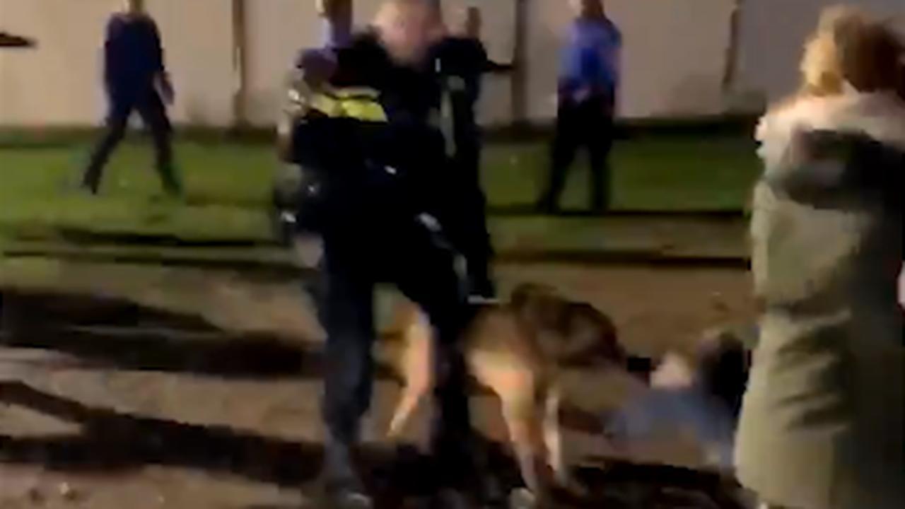 Honden en wapenstokken ingezet tegen jongeren in Moergestel