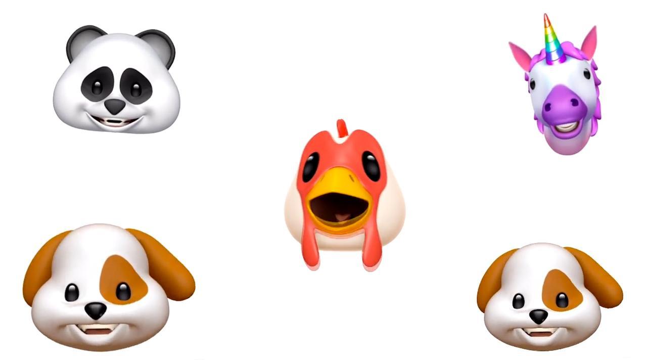 iPhone X-gebruikers playbacken beroemde nummers met animoji