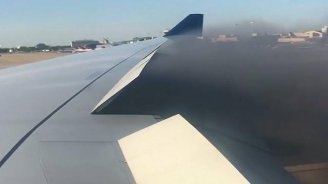 Vliegtuig moet noodlanding maken in Atlanta door brandende motor