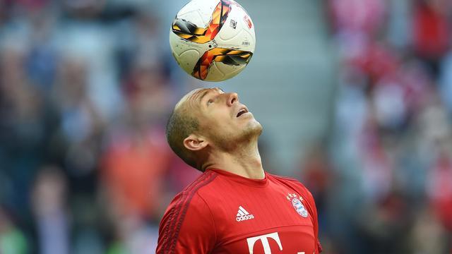 Robben: 'De eerste helft speelden we heel, heel goed'