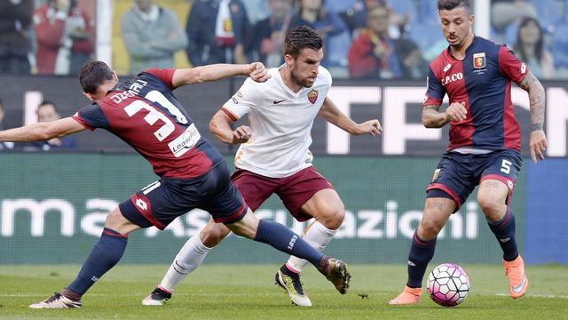 Strootman viert basisrentree bij AS Roma met nipte zege