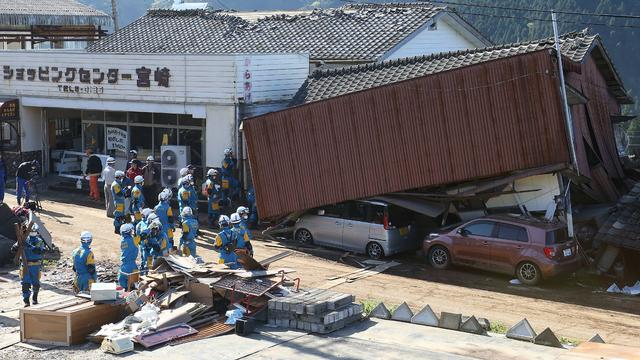 Dodental na aardbevingen Japan blijft verder oplopen