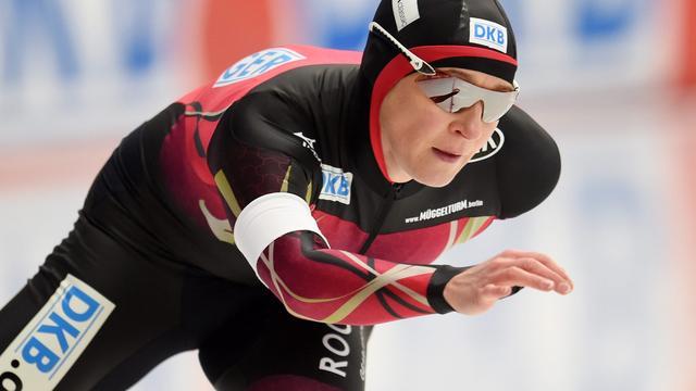 Claudia Pechstein (43) voor 21e keer naar EK allround
