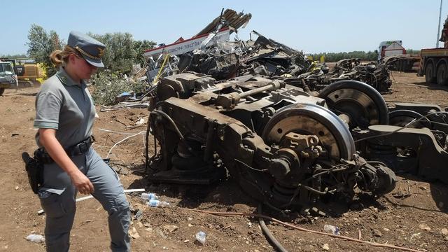 Stationschef erkent fout die treinongeluk Italië veroorzaakte