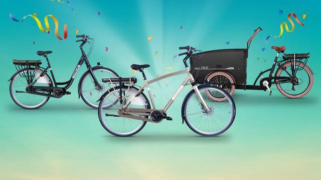 Zie direct of je een van deze e-bikes wint in de VriendenLoterij