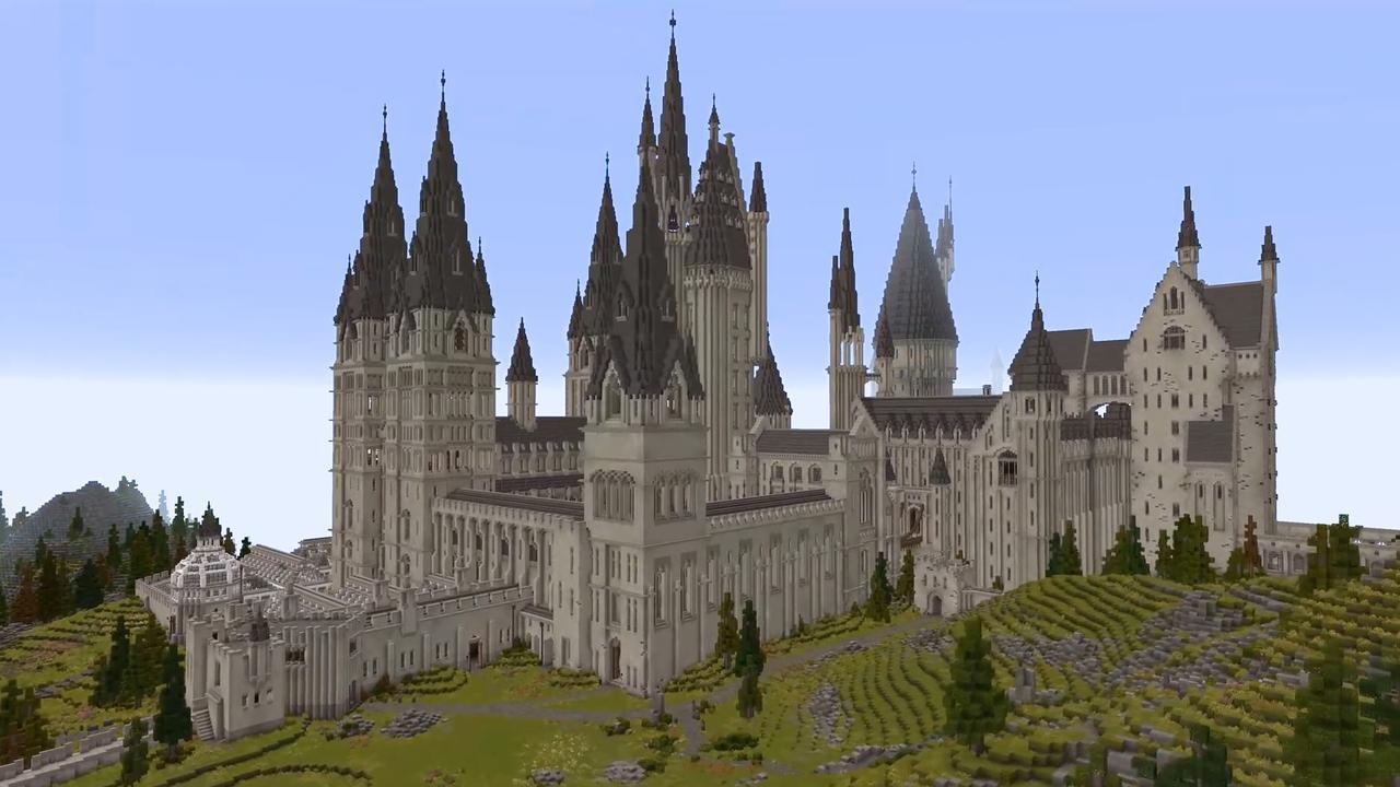 Minecraft-fans maken volledige Harry Potter-versie van spel