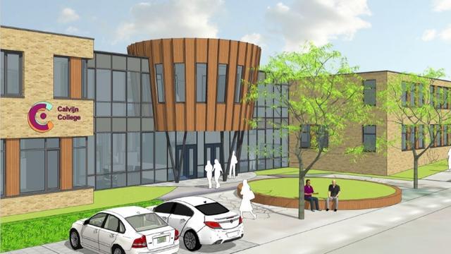 Calvijn College vernieuwt schoolgebouw in Middelburg