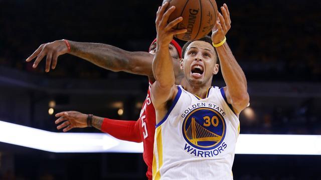 Golden State Warriors op voorsprong tegen Houston Rockets