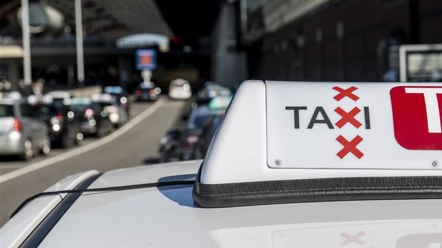 'Taxi's steeds vaker betrokken bij ongevallen in Amsterdam'