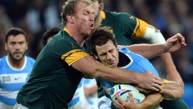 Zuid-Afrikaanse rugbyers veroveren brons bij WK