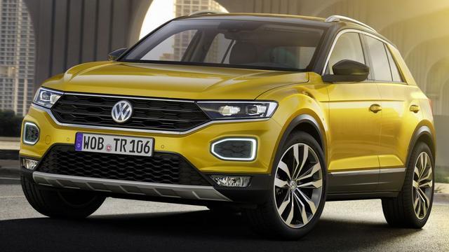 Volkswagen presenteert SUV T-Roc