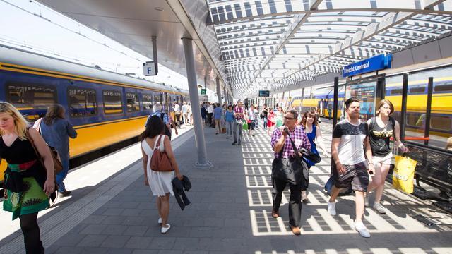 Perrons nieuwe sporen Utrecht Centraal half juli open