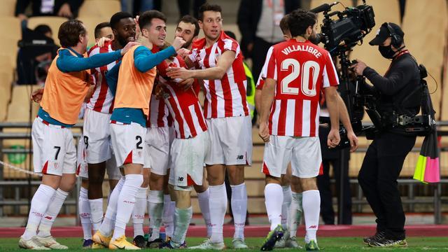 Athletic viert de winnende treffer van Iñaki Williams.