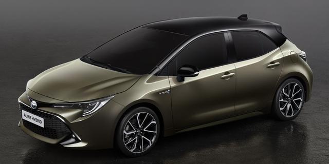 Nieuwe Toyota Auris maakt zijn debuut