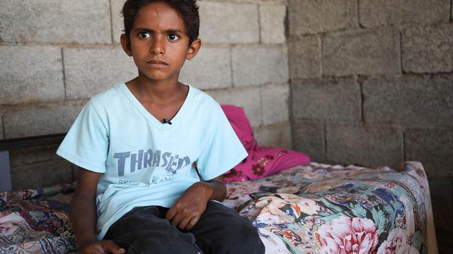 Vijf jaar oorlog in Jemen: veel kinderen zijn altijd bang