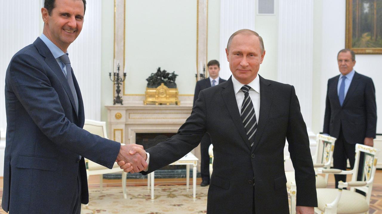 President Assad bezocht dinsdag Poetin