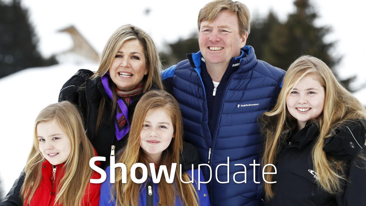 Show Update: selfies met het koningspaar in Lech